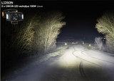Orion+ LEDSON LED SCHEINWERFER 100W - ORANGE / WEISS position light_