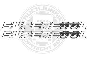 SUPERCOOL - AUFKLEBER