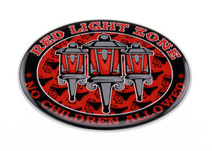 RED LIGHT ZONE - 3D DELUXE FULL PRINT AUFKLEBER