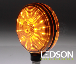 SPANISCHE LAMP LED - ORANGE/ORANGE