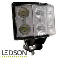 LEDSON - Hydra ANGLED ARBEITSLICHT 60W - DIFFUSED LENS