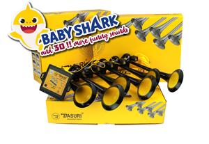 BASURI® MUSICAL AIRHORN - BABY SHARK + 30 SONGS