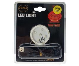 POPPY LED - ROT - 12/24V - USB