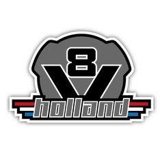 V8 HOLLAND - FULL PRINT AUFKLEBER