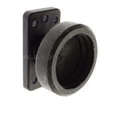 Danish side marker light holder - single-  rubber GYLLE