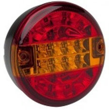 3-KAMER RÜCKLICHT LED HAMBURGER - 140MM