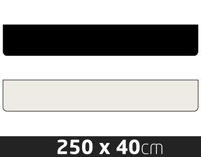 SCHMUTZFÄNGER  - KEIN PRINT - 250 X 40CM