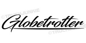 GLOBETROTTER - AUFKLEBER