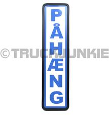 PAHAENG SCHILD BLAU - 40X10CM