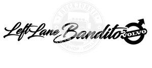 VO - LEFT LANE BANDITO - AUFKLEBER