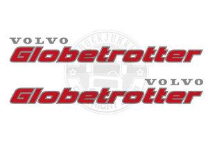 VO GLOBETROTTER - ZWEIFARBIGE AUFKLEBER