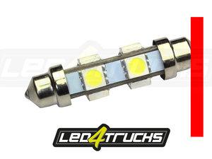 ROT - 6xSMD LED 24-28V - FESTOON