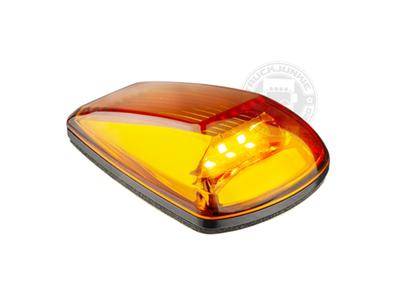 LED TOP LIGHT / MARKIERUNGSLAMPE - 9-32V - ORANGE GLAS