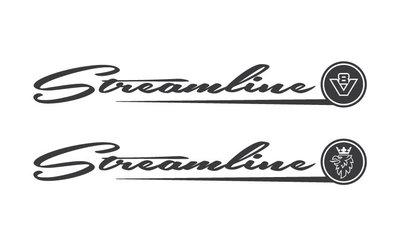 Streamline Windostickers Scania