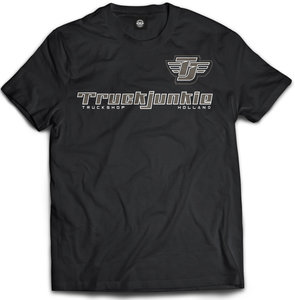 truckjunkie truckshop holland t shirt zwart