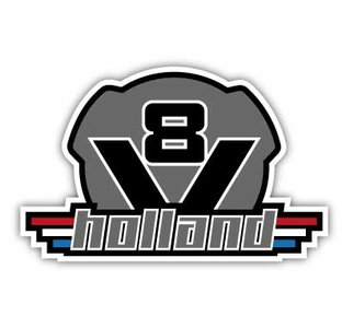 Scania v8 holland sticker