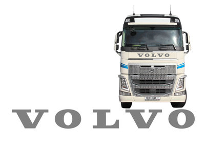 XL FRONT STICKER VOLVO - OLD STYLE