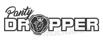 Truckjunkie Panty Dropper Sticker