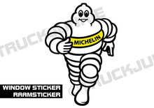 MICHELIN POP RAAMSTICKER VRACHTWAGEN