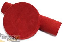 alcantara folie wrapfilm rood