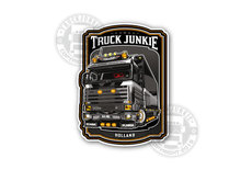 STICKER TRUCKJUNKIE SCANIA V8