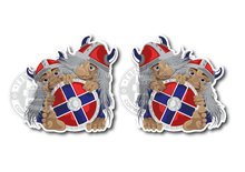TROL NORWAY STICKERS