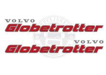 VOLVO GLOBETROTTER STICKER VRACHTWACHTWAGEN TRUCK