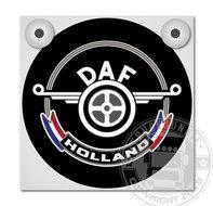 DAF HOLLAND lichtbak zwart met nederlandse vlag