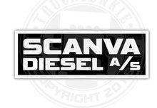 Scanva diesel as sticker