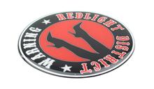 REDLIGHT DISTRICT STICKER VRACHTWAGEN TRUCK