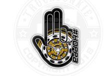 #HOPPA HAND STICKER TRUCKJUNKIE