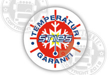 STIES STICKER TEMPERATURE GARANTI  TRUCKJUNKIE