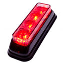 FLASHER-4-LED-TILTED-RED
