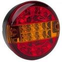 ACHTERLICHT ROND 140MM - OPBOUW HAMBURG LAMP